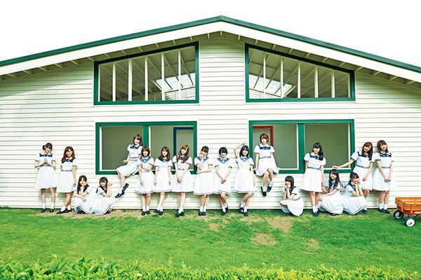 白い制服の乃木坂46