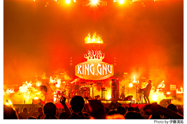 "M-ON! LIVE King Gnu 「King Gnu Live Tour 2020 AW ""CEREMONY""」"